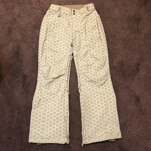 Roxy snow pants. Size medium